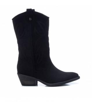 Buy Xti Boots 044582 black -Heel height: 5 cm