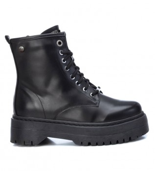 Buy Xti Ankle boots 072541 black -Heel height: 5 cm