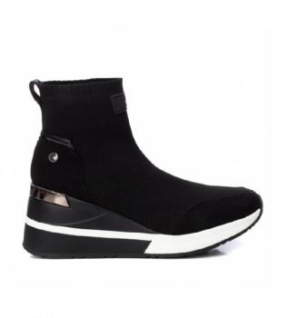 Buy Xti Sneakers with wedge 43033 black -Height wedge: 7cm