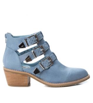 c1dc1bd9b Xti Botines Irene jeans -Altura tacón  5cm-