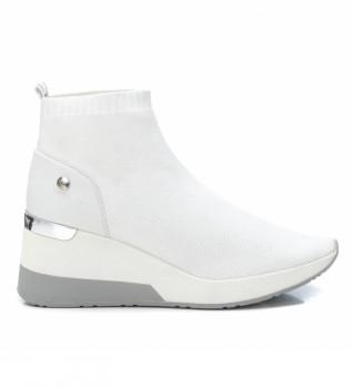 Comprare Xti Stivaletti 042571 zeppa bianca altezza 6cm-