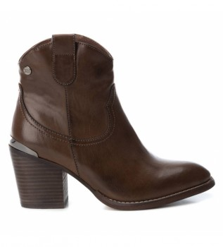 Buy Xti Ankle boots 049446 brown -Heel height: 7cm