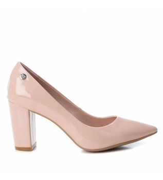 b551c10b0df Zapatos tacón medio salon 034077 nude -Altura tacón  8cm-