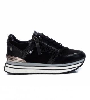 Comprare Xti Sneakers 0430070 nere -Altezza piattaforma 4.5cm-