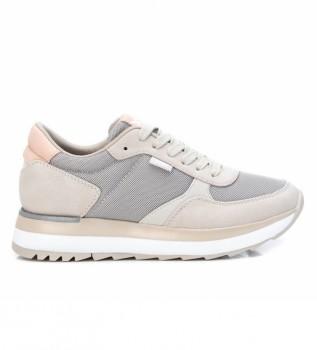 Buy Xti Sneakers 043436 beige, grey