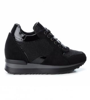 Comprare Xti 049268 scarpe nere-altezza zeppa: 6 cm-