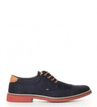 XTI Zapato Color Marino Talla 41 IuXmf847kG