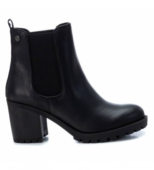 Buy Xti Ankle boots 034397 black -heel height: 8 cm