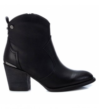 Buy Xti Ankle boots 034412 black -heel height: 7 cm