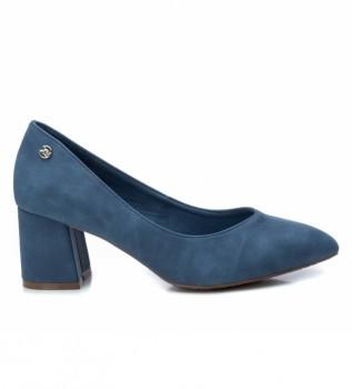 Comprare Xti Scarpa da salotto 034227 jeans - Altezza tacco: 6cm