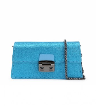 Trussardi Embreagem CORIANDOLO_75B00554-97 azul -22x11x4cm