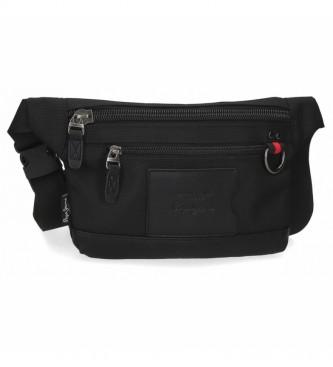 Pepe Jeans Bum bag Counter black -23x15x2,5cm