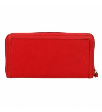 Pepe Jeans Portefeuille en chaîne -18x10x2cm- rouge