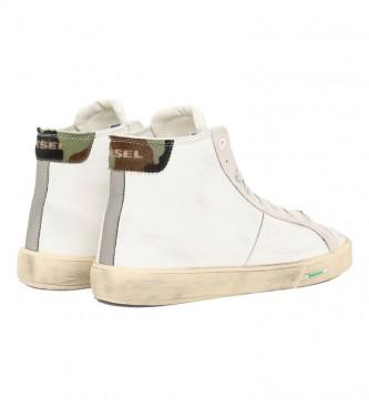 Diesel Zapatillas de piel S-Mydori MC blanco