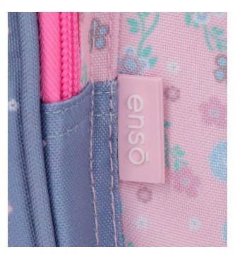Enso A Minha Carteira Doce Casa -14x10x3,5cm- rosa, azul