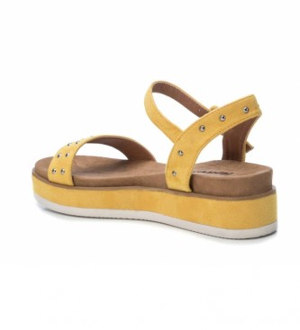 Refresh Sandalias 069510 amarillo -Altura plataforma: 5cm-