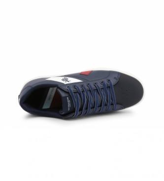 U.S. Polo Assn. Baskets à lacets FETZ4136S0 bleu marine