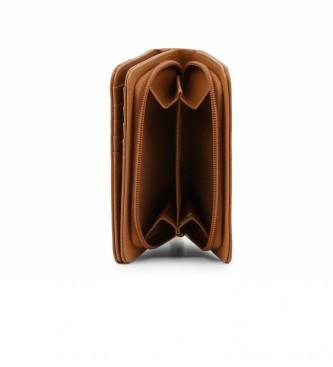 Carrera Jeans Portefeuille Jenny CB4096 brun -14x10x3cm