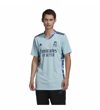 adidas Camisa da Primeira Equipa do Real Madrid 20/21 azul