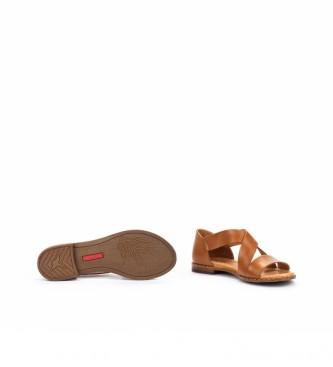 Pikolinos Sandálias de couro Algar W0X castanho
