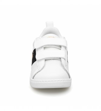 Le Coq Sportif Zapatillas de piel COURTCLASSIC INF GIRL blanco, negro