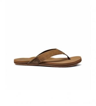 Reef Newport bronze sandals