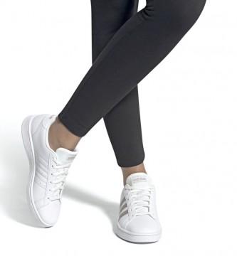 adidas Shoes Grand Court white, platinum