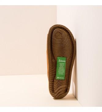 EL NATURALISTA Sandálias de couro N5794 Balanço castanho