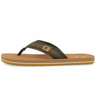 Gioseppo Flip flops Alessano cáqui