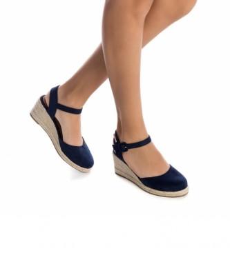Refresh Espadrilles 072858 azul -Altura do calcanhar: 7cm
