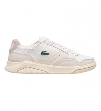Lacoste Game Advance Luxe07211SMA tênis de couro branco