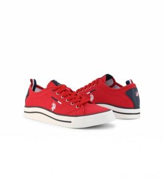 U.S. Polo Assn. Sneakers WAVE4150S1 vermelho