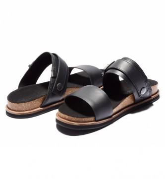 Timberland Leather sandals Amalfi Vibes black