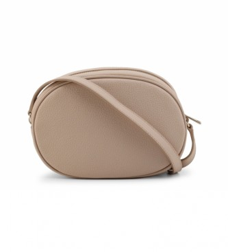 Furla CARA_EAU2CRA brown leather shoulder bag -20.5x14x7cm