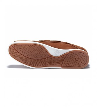 Timberland Leather boat shoes Atlantis Break brown