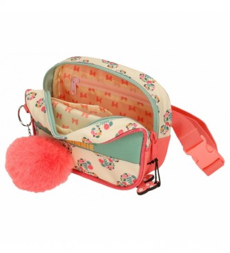 Joumma Bags Minnie Golden Days pack fanny pack verde, multicolor -12x17x6cm