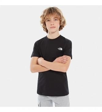 The North Face T-shirt à manches courtes Simple Dome noir