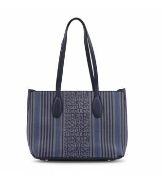 Pierre Cardin Borsa shopping MS126-83681 blu navy -36.5x26x13cm-