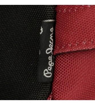 Pepe Jeans Sac à dos 6332428 rouge -31x44x17.5cm