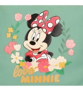 Joumma Bags Estuche Minnie Golden Days verde, multicolor -22x12x5cm-