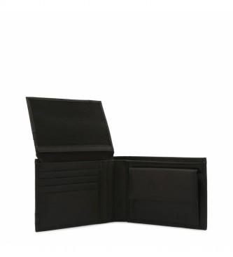 Bikkembergs Portafoglio in pelle E2BPME2D3003 nero -13x10x3cm-