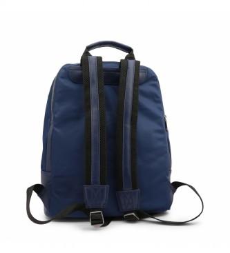 Bikkembergs Mochila E2BPME1Q0065 azul -30x42x15.5cm