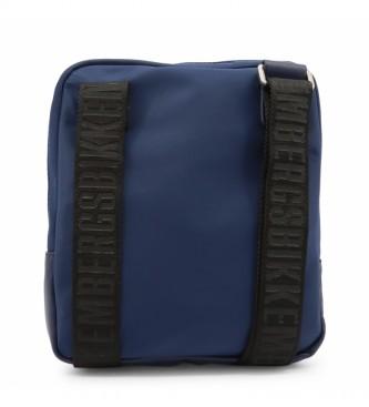 Bikkembergs Saco de ombro E2BPME1Q0012 azul -22x25.5x3.5cm
