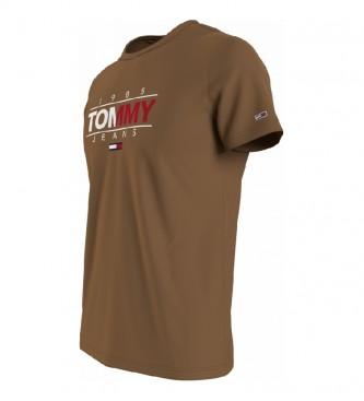 Tommy Hilfiger Camiseta TJM Essential Graphic marrón