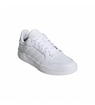 adidas Sneaker Entrap in pelle bianca