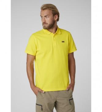 Helly Hansen Polo jaune Transat