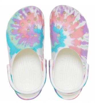 Crocs Classic Tie Dye Graphic Clog U lilac clogs
