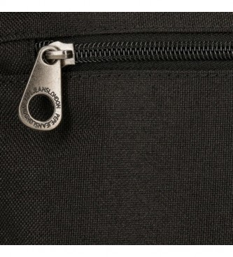 Pepe Jeans Borsa a tracolla Jeans Dalton nera -17x22x 6 cm -