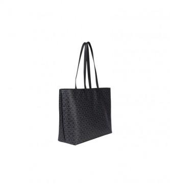 Calvin Klein Borsa Shopper MD Nera -42,5 x 28,5 x 12 cm-