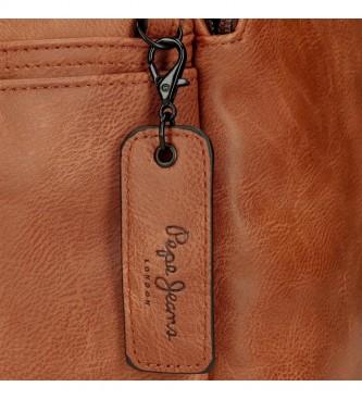 Pepe Jeans Pepe Jeans Vegan Bum bag marron -28x13x8cm